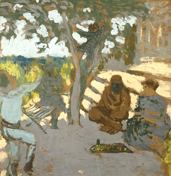 Jardin à l'Étang-la-Ville (vers 1908) Édouard Vuillard, Musée Le Prieuré Maurice Denis (Saint Germain en Laye)