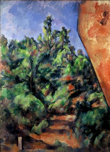 Le rocher rouge (vers 1895) Paul Cézanne, Musée de l'Orangerie (Paris)