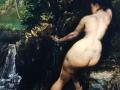 Baigneuse à la source (1868) Gustave Courbet, Musée d'Orsay (Paris)