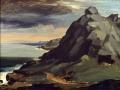 Falaise de la Hague (1841-1842) Jean-François Millet, Musée Thomas-Henry (Cherbourg)