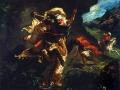 La chasse au tigre (1854) Eugène Delacroix, Musée d'Orsay (Paris)
