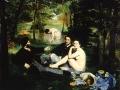 Le déjeuner sur l'herbe (1863) Édouard Manet, Musée d'Orsay (Paris)