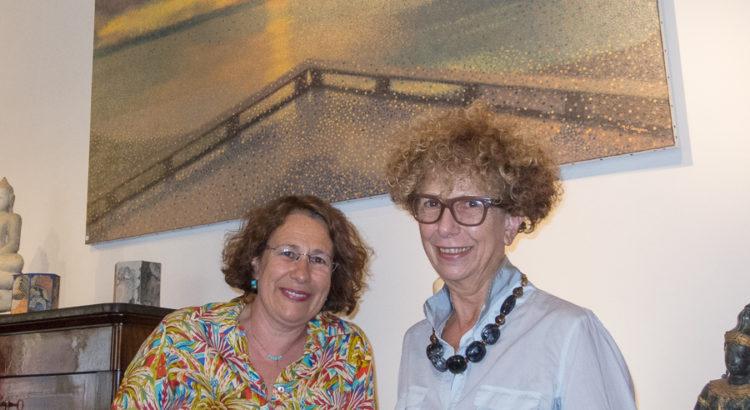 Portrait de Christine Ledantec et Marie-Gabrielle Carrassan